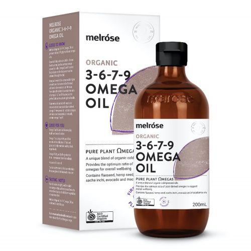 Melrose Organic Omega 3,6,7 & 9 Oil - 200ml