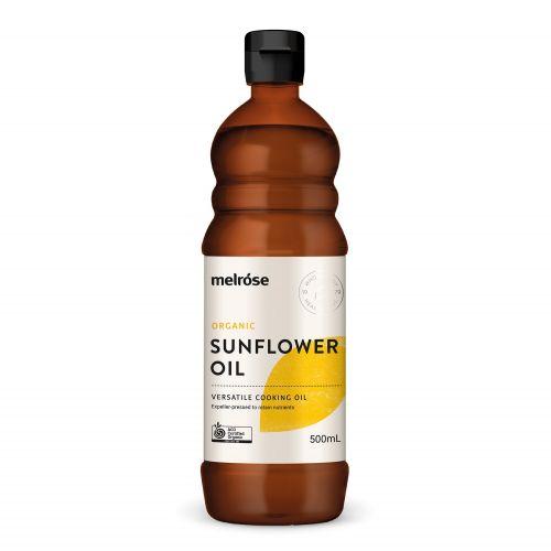 Organic Sunflower Oil 500ml