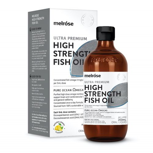High Strength Fish Oil - 200ml