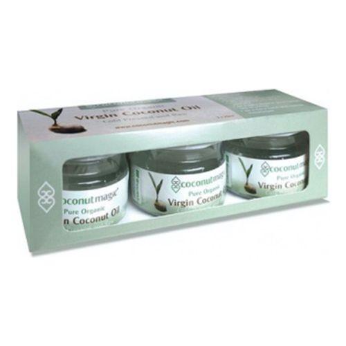 Organic Coconut Oil Trio - 3 x 25ml