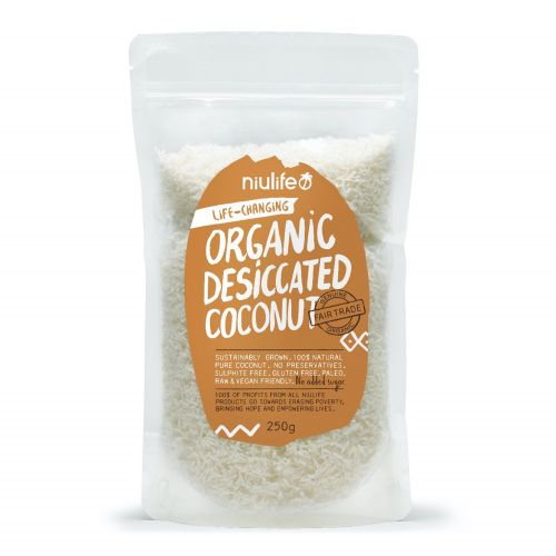 Organic Desiccated Coconut - 250g