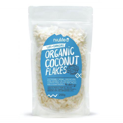 Organic Coconut Flakes - 200g