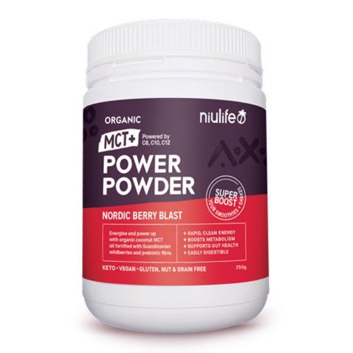 Organic MCT+ Power Powder Nordic Berry Blast - 400g