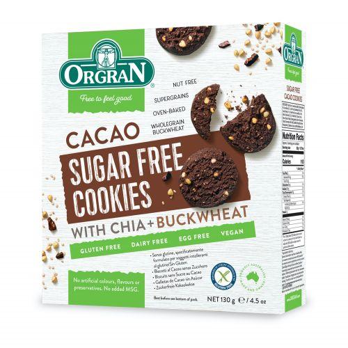 Sugar Free Cacao Cookies - 130g