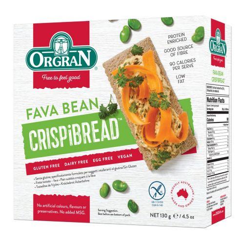 Fava Bean Crispibread - 130g