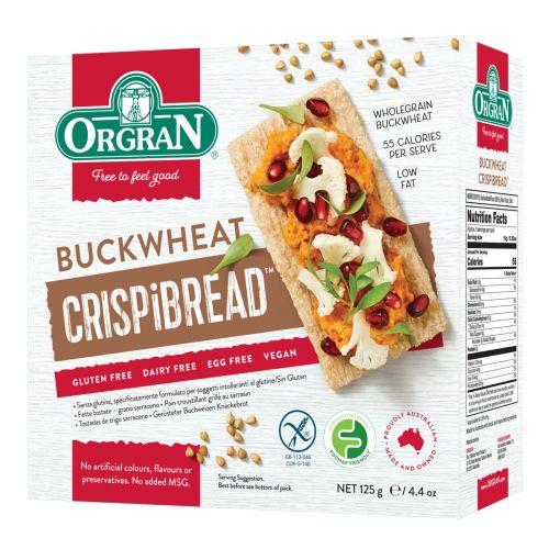 Toasted Buckwheat Crispibread - 125g
