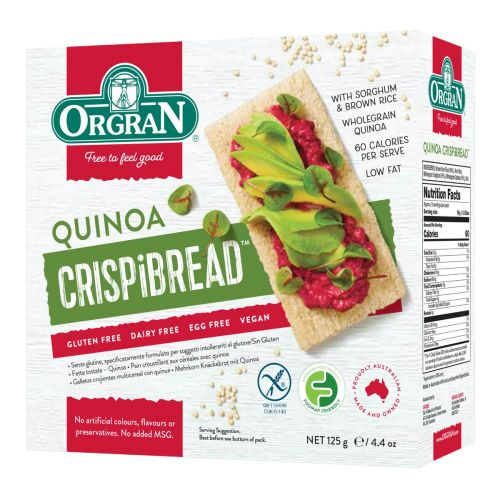 Quinoa Crispibread - 125g