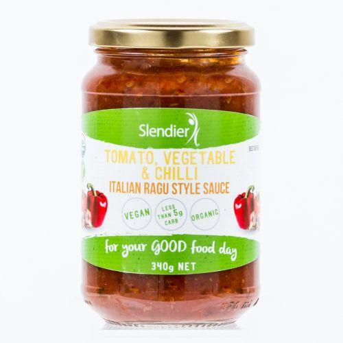 Ragu Sauce Tomato Vegetable and Chilli 340g