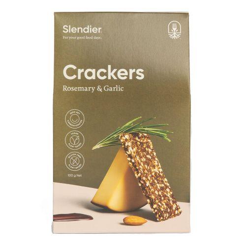Crackers Rosemary Garlic 100g