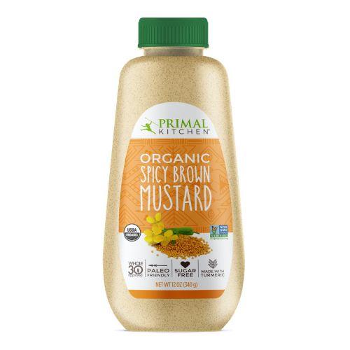 Organic Spicy Brown Mustard - 340g