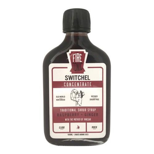 Switchel Concentrate Raspberry & Ginger Shrub Syrup - 180ml