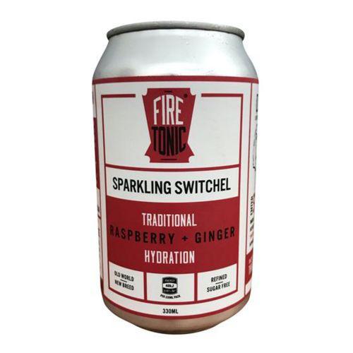 FiRE TONiC Traditional Switchel Raspberry & Ginger - 330ml
