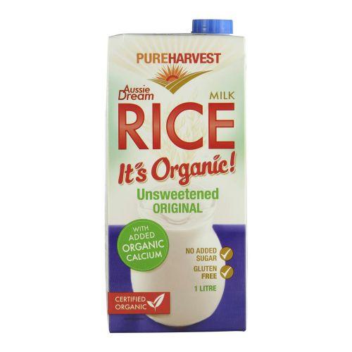 Organic Aussie Dream with Calcium Rice Milk - 1L