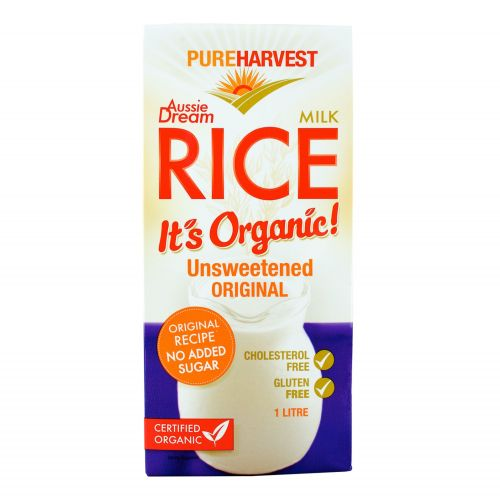 Organic Aussie Dream Rice Milk - 1L