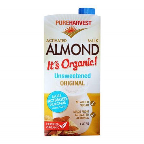 Organic Unsweetened Almond Milk - 1L