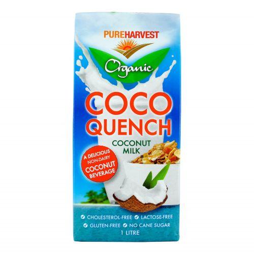 Organic Coco Quench Coconut Milk - 1L