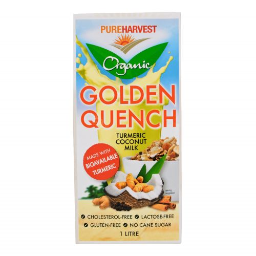 Organic Golden Quench Turmeric & Coconut Milk - 1L