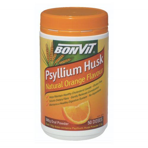 Orange Flavoured Psyllium Husk - 500g