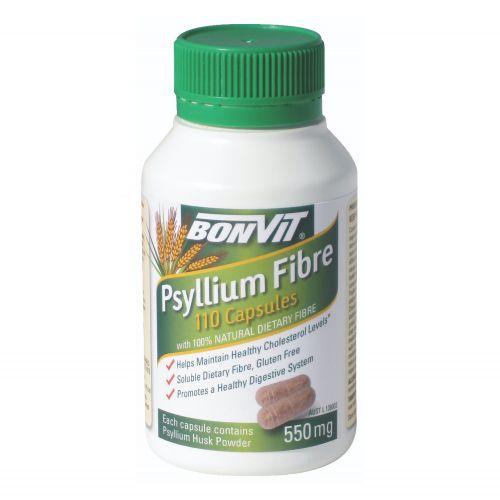 Psyllium Capsules 550mg - 110 Caps