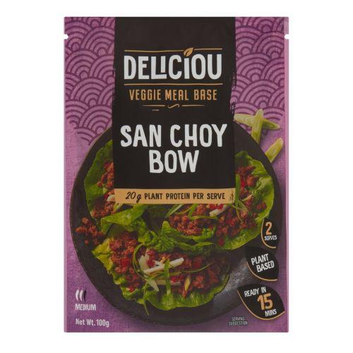 Veggie Meal Base San Choy Bow 100g