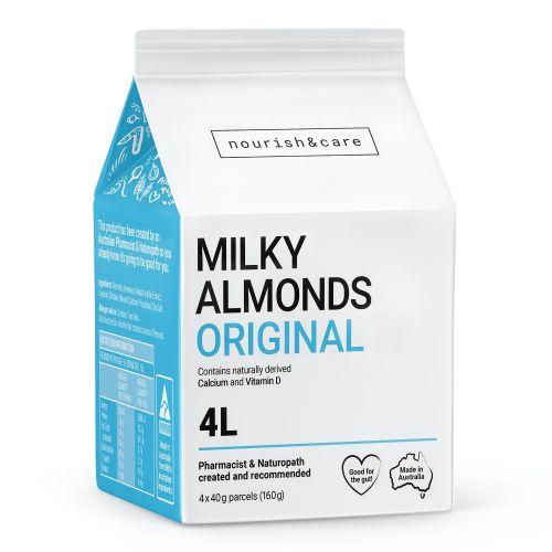 Milky Almonds Original - 160g (4 x 40g Sachets)