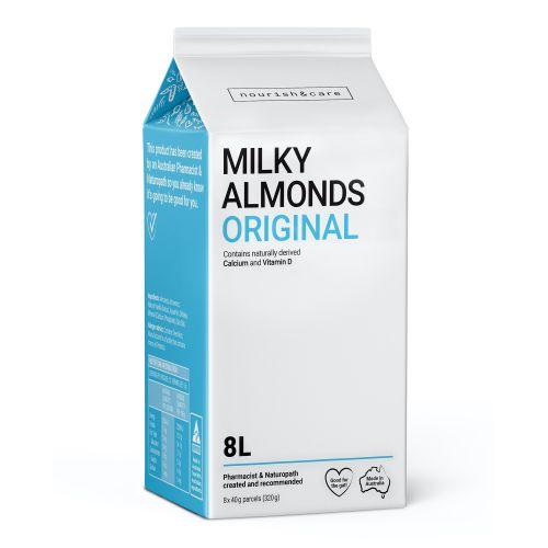 Milky Almonds Original - 320g (8 x 40g Sachets)