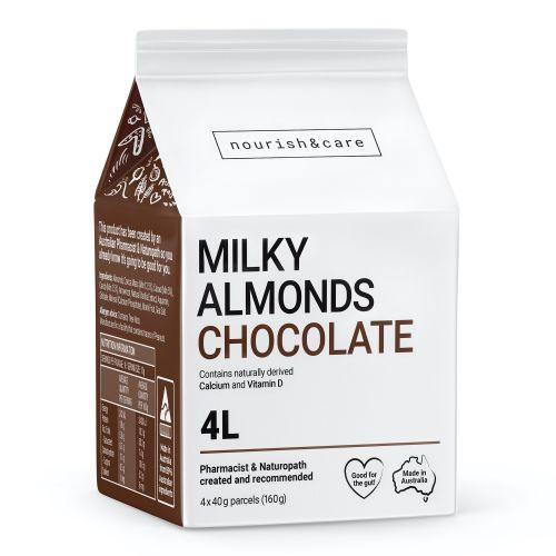 Milky Almonds Chocolate - 160g (4 x 40g Sachets)