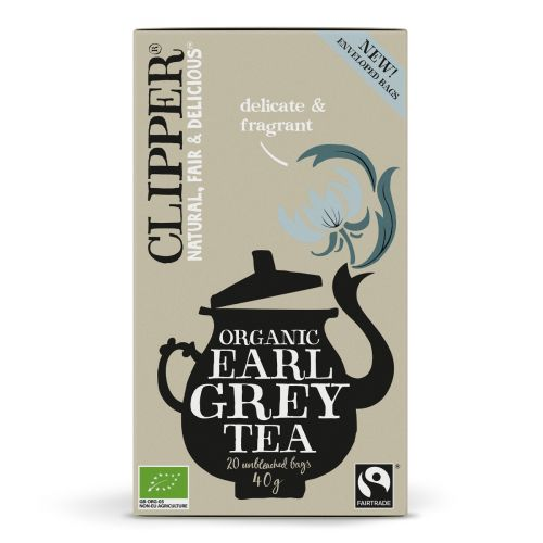 Organic Earl Grey Tea - 20 Teabags