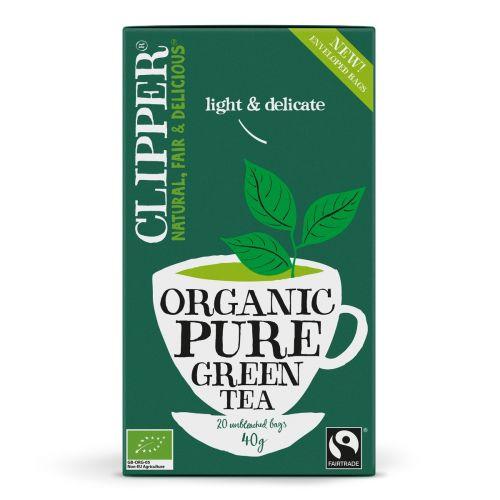 Organic Green Tea Pure - 20 Teabags