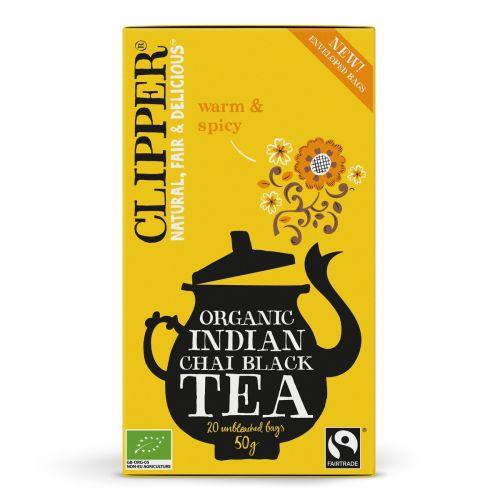 Organic Indian Chai Black Tea - 20 Teabags
