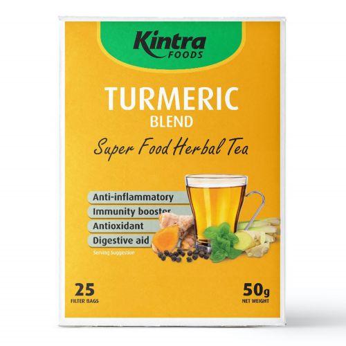 Tumeric Herbal Blend - 25 Tea Bags 50g