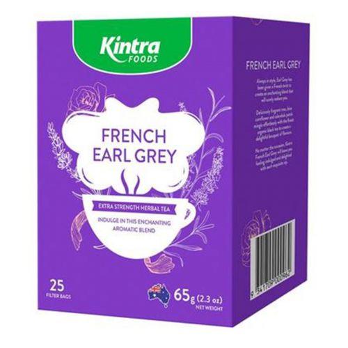 French Earl Grey Tea 25 Teabags 65g