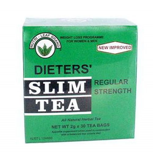 Regular Strength Slim Tea - 30 Teabags