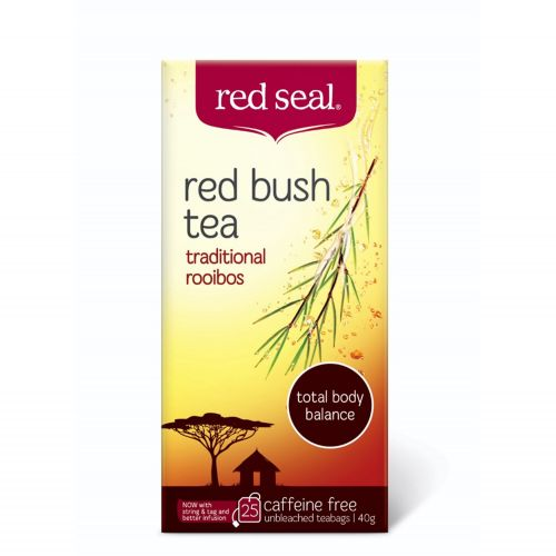 Red Bush Rooibos Tea - 25 Teabags