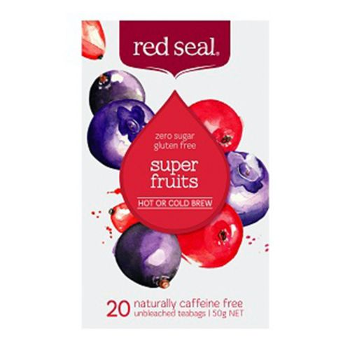 Hot or Cold Brew Tea Superfruits 20 Teabags