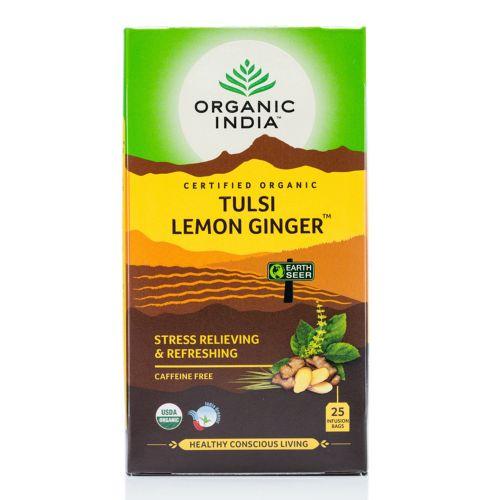 Tulsi Lemon Ginger Tea - 25 Teabags