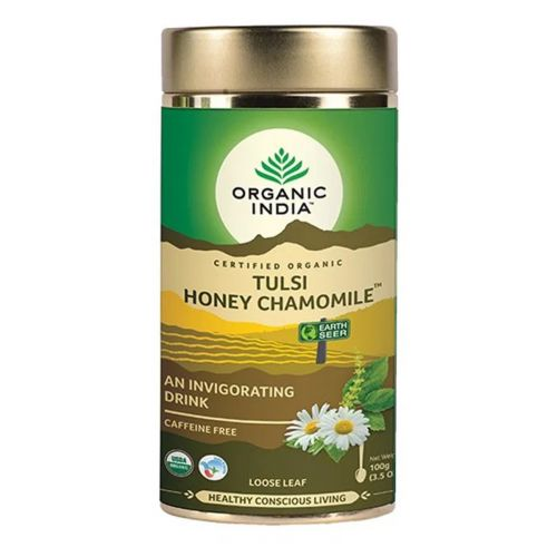 Tulsi Honey Chamomile Loose Leaf Tea 100g