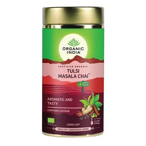 Tulsi Masala Chai Loose Leaf Tea 100g