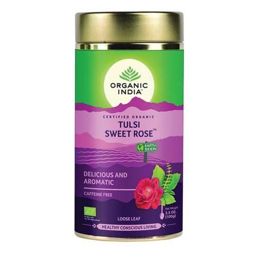 Tulsi Sweet Rose Loose Leaf Tea 100g