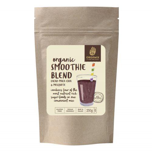 Organic Smoothie Blend - Cacao/Maca/Mesquite/Chia - 250g