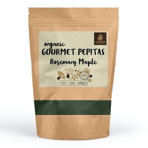 Organic Gourmet Pepitas (Rosemary Maple) - 125g