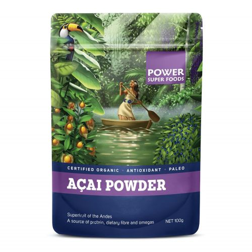 Organic Acai Berry Powder 100g