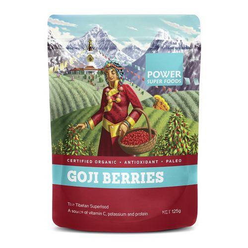 Organic Goji Berries 125g