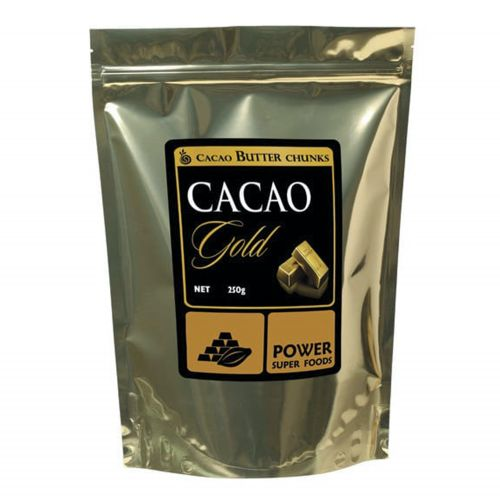 Organic Raw Cacao GOLD Butter Chunks 250g