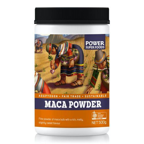 Organic Maca Powder - 500g (Cylinder)