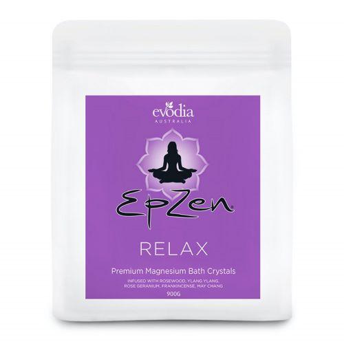 EpZen Premium Magnesium Bath Crystals (Relax) - 900g