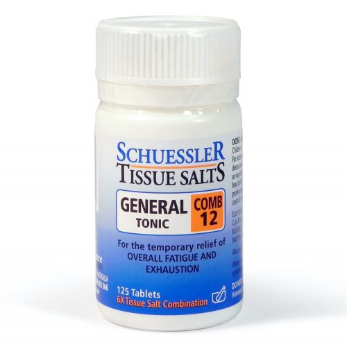 Combination 12 General Tonic - 125 Tabs