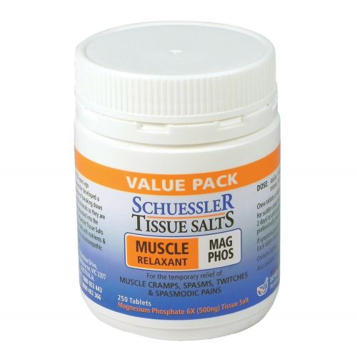 Tissue Salts Mag Phos Muscle Relaxant - 250 Tabs