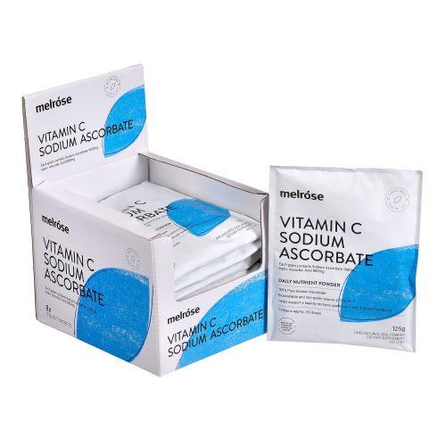 Vitamin C & Sodium Ascorbate Powder - 125g
