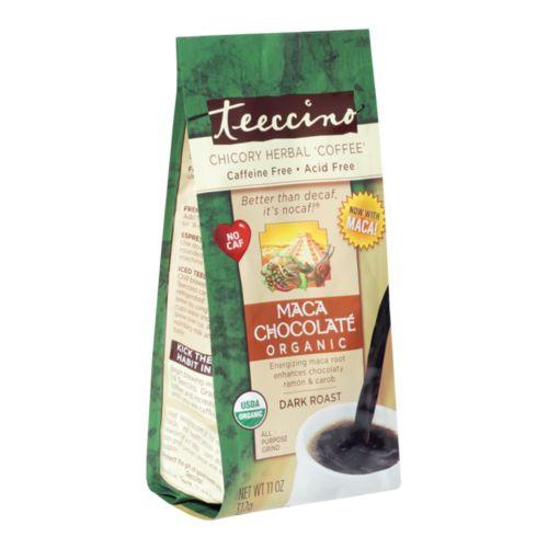 Chicory Herbal Coffee Organic All Purpose Grind Maca Chocolate Dark Roast 312g
